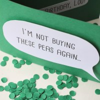 Shelley Makes... a Pea Confetti Card!