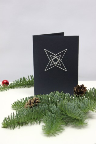 DIY Sewing Star Card | Shelley Makes