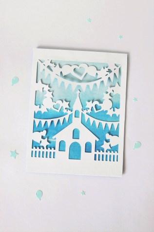 DIY Paper-Cut Christening Card (21) GET ORIGINAL - Copy