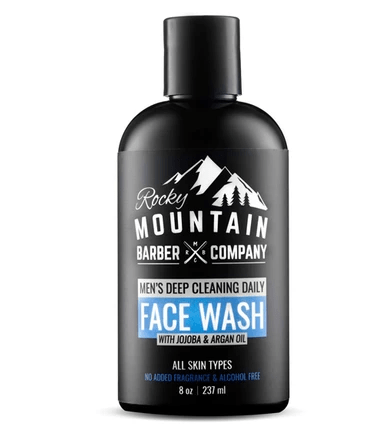 Men's Deep Cleaning Daily Face Wash by Rocky Mountain Barber Company