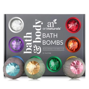 ArtNaturals Bath Bomb Gift Set Products