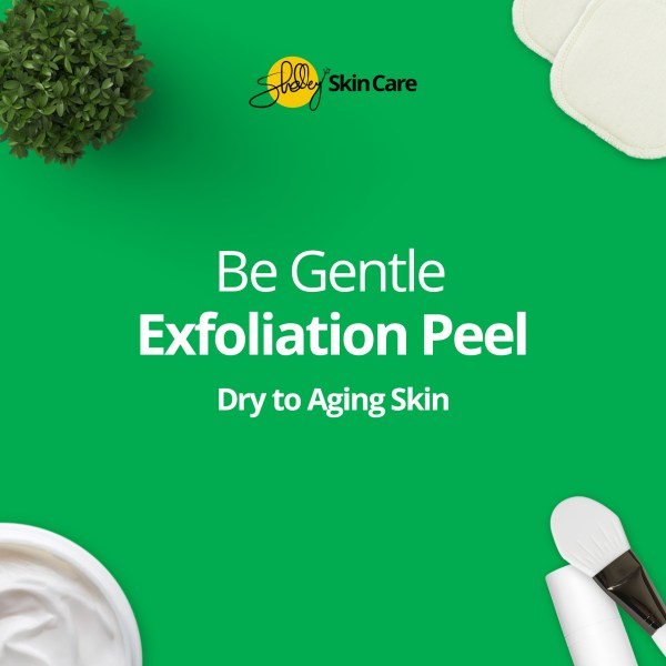 Gentle anti-aging facial peel
