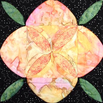 Midnight Blossom Detail
