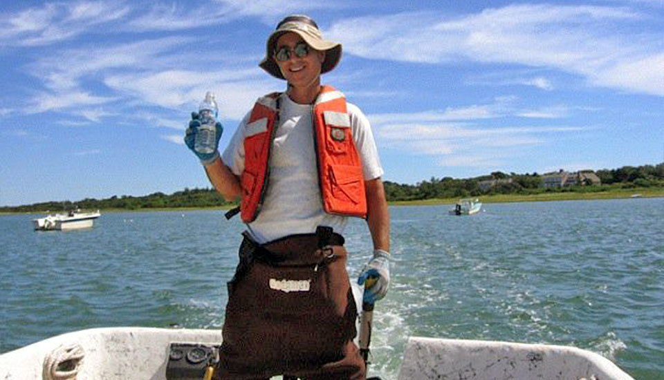 Barnstable Town Biologist Tom Marcotti