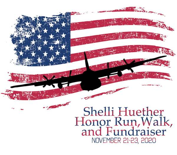 T-Shirt for the Shelli Huether Honor Run, Walk, and Fundraiser