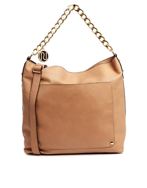 Image 1 ofRiver Island Chain Slouch Bag