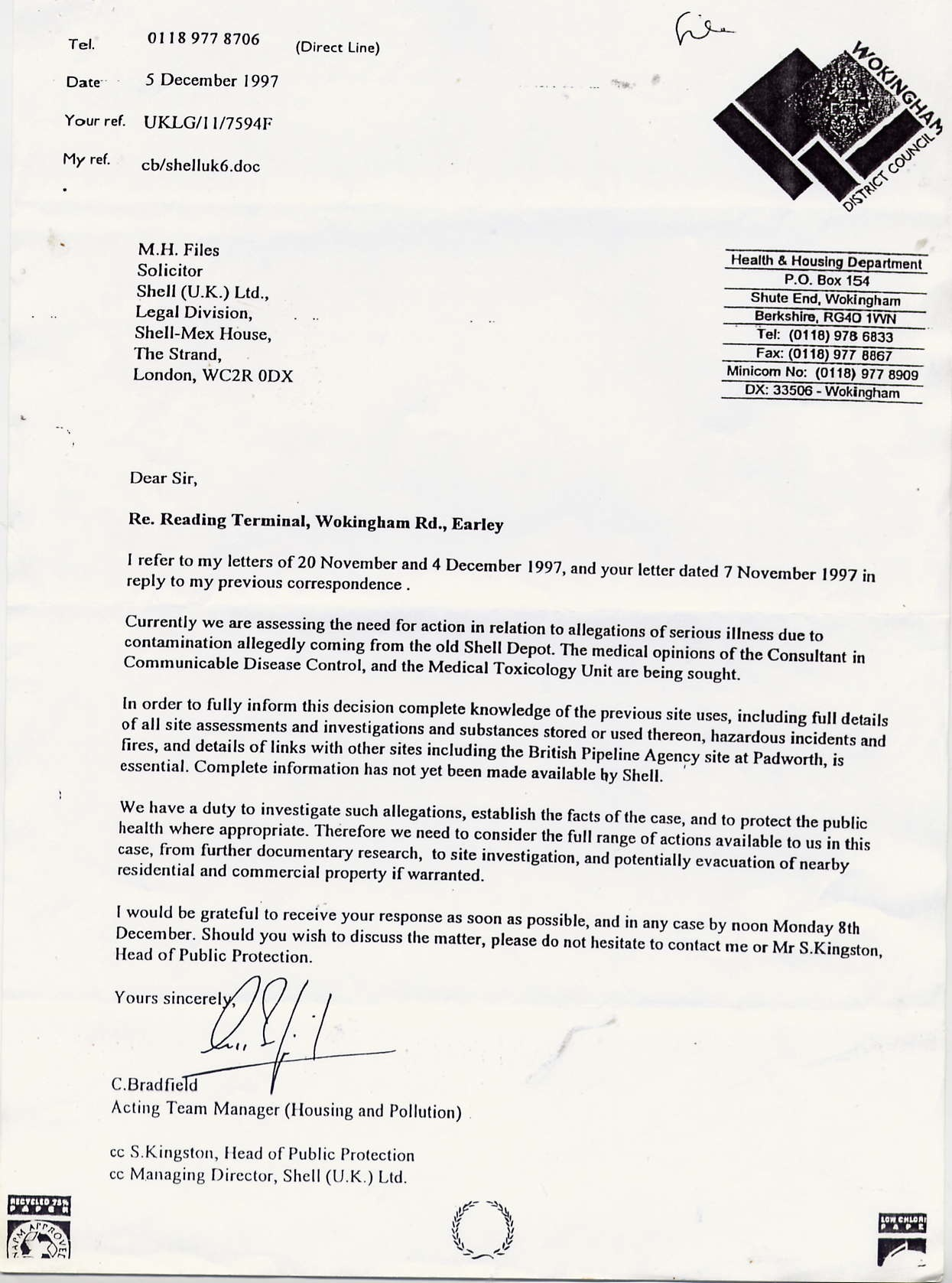 How To Write A Without Prejudice Letter Example Uk