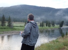 Morning Coffee on the Snake RIver