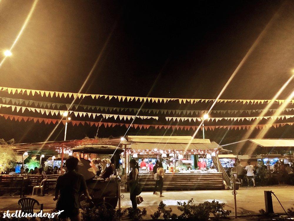 Baywalk Market Stall Palawan