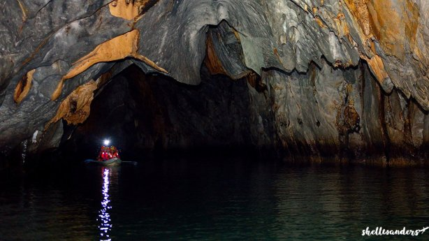 underground river palawan inside the cave