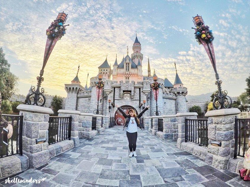 Hongkong Disneyland Sleeping Beauty Castle
