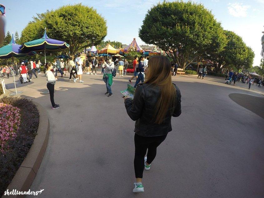 Hongkong Disneyland Where to Map