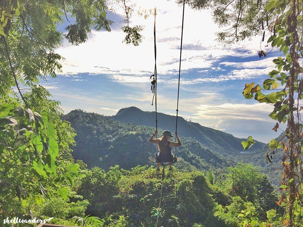 Famous Swing in Bacalla Campsite