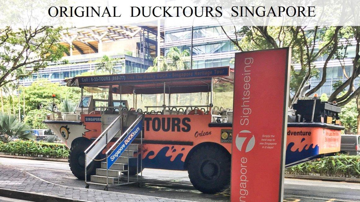 Original Ducktours Singapore – Amphibian Vehicle