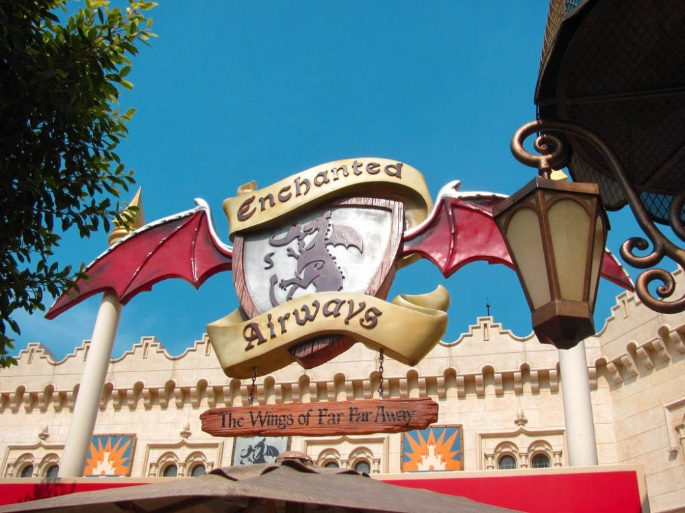 UNIVERSAL STUDIOS SINGAPORE ENCHANTED AIRWAYS-2