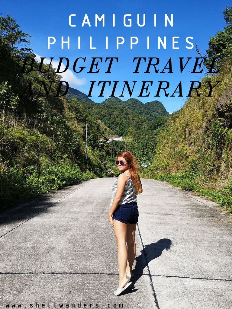 CAMIGUIN 2500 PHP BUDGET AND ITINERARY