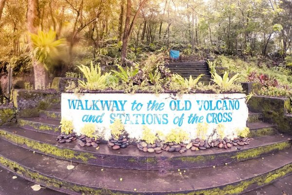 Travel Guide to Walkway to the Old Volcano of Camiguin, Philippines