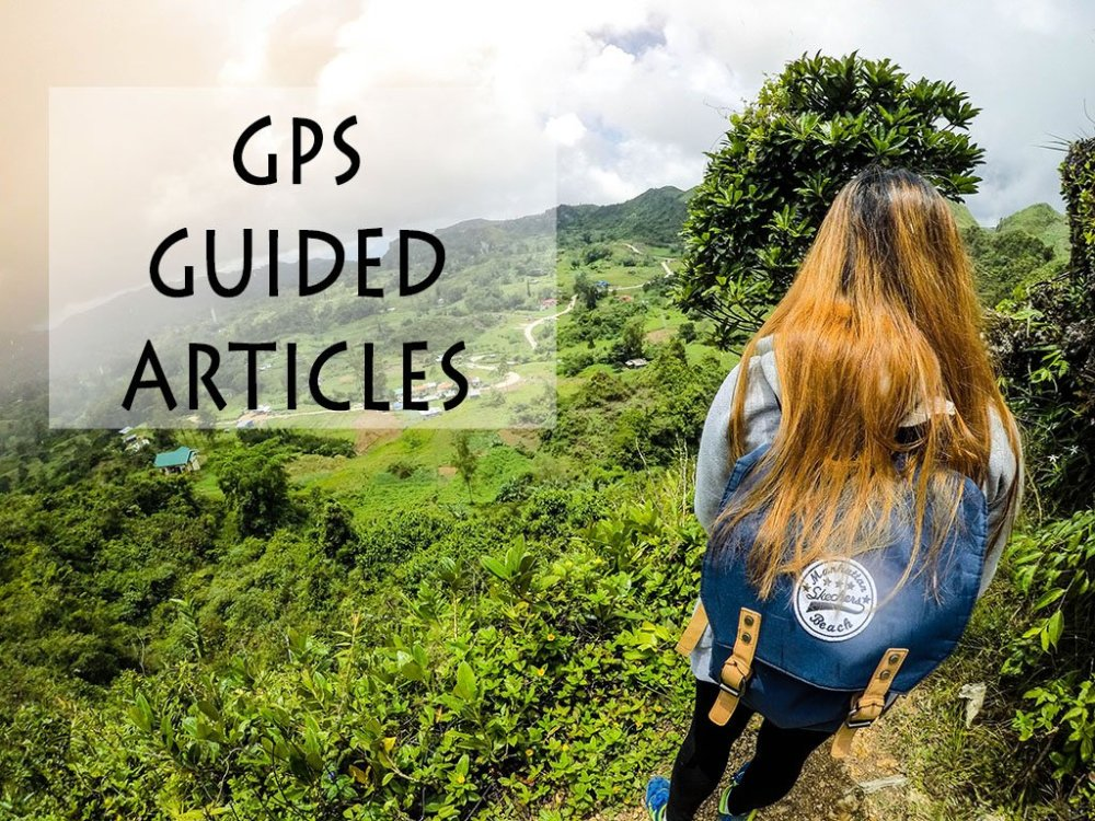 GPS-GUIDED TRAVEL ARTICLES