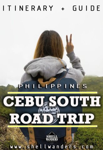 ROAD TRIP CEBU SOUTH ITINERARY AND GUIDE