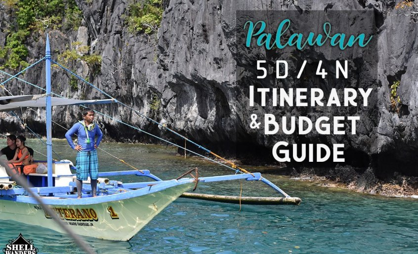 PALAWAN PHILIPPINES ITINERARY AND BUDGET GUIDES COVER