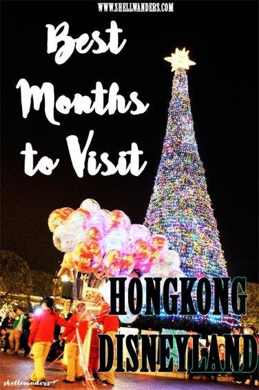BEST MONTHS TO VISIT HONGKONG DISNEYLAND
