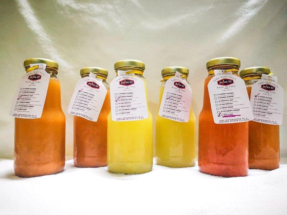 Juice It Cebu Drinks