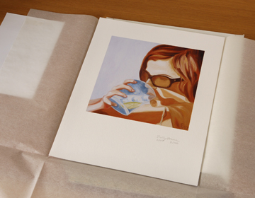 Fine Art Print packaging