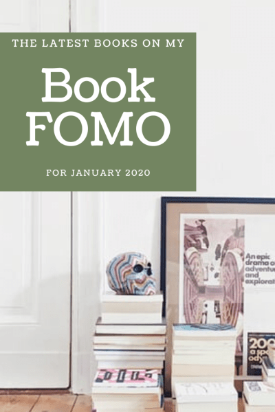 January Book FOMO List for Crazy Cat Book Club