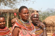 """Umoja (""""unity in Swahili) is an all-female village located in northern Kenya. Founded as a """"violence-free"""" village for survivors of gender-based violence and young girls running from forced marriages."""