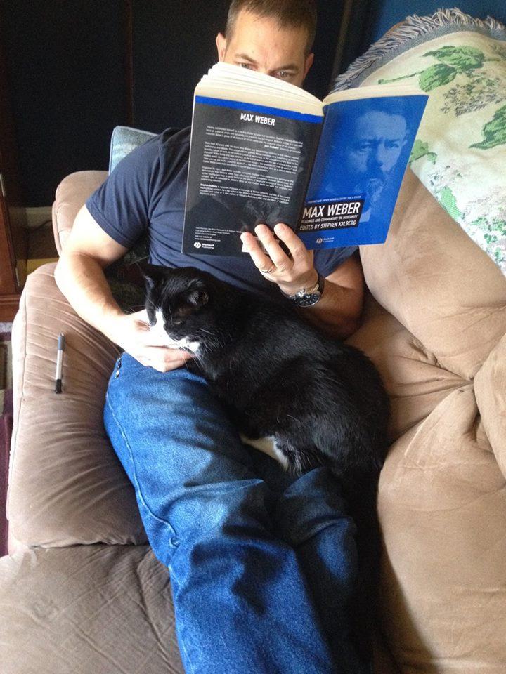 Leo and John Reading
