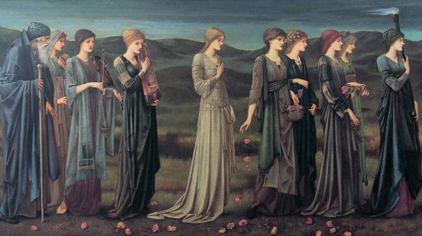 Psyche's Wedding Edward Burne-Jones
