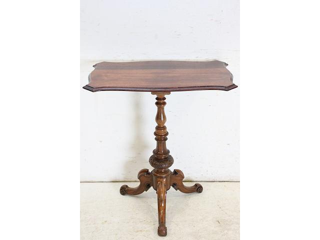 1890年代イギリス製アンティーク ローズウッド マホガニー ビクトリアンスタイルのサイドテーブル