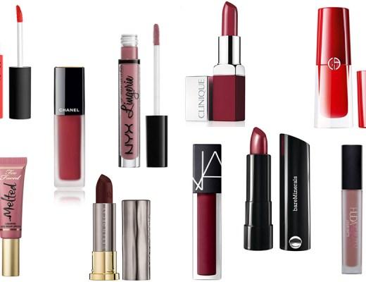 top 10 rouge à lèvres 2017
