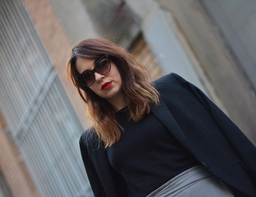 working-girl, jupe-culotte, red-lips-cats-eyes