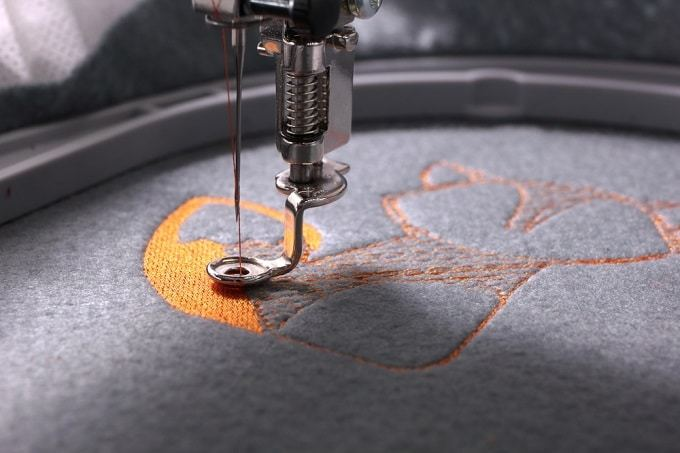 machine-embroidery