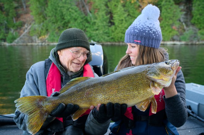 The fish of the day and the smiles that say it all! Fishing makes memories.