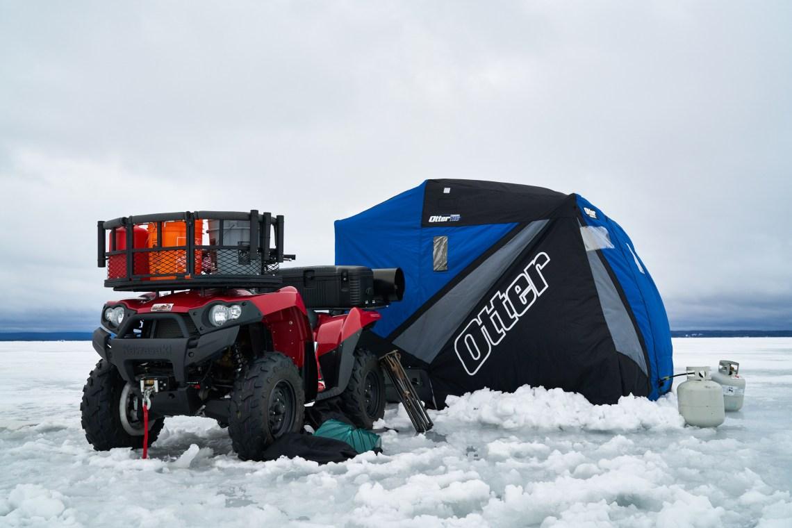 Ice Fishing Adventure on Lake Nipissing - Ashley Rae