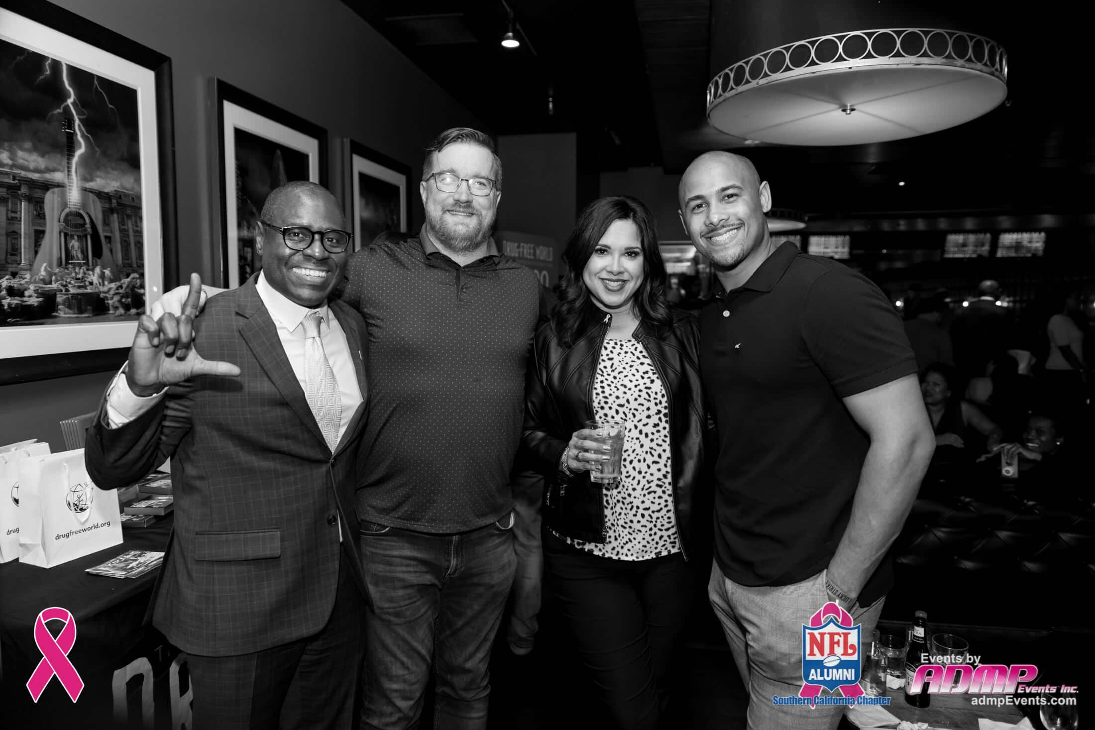 NFL Alumni SoCal Charity Event Series Breast Cancer Event 10-14-19-128
