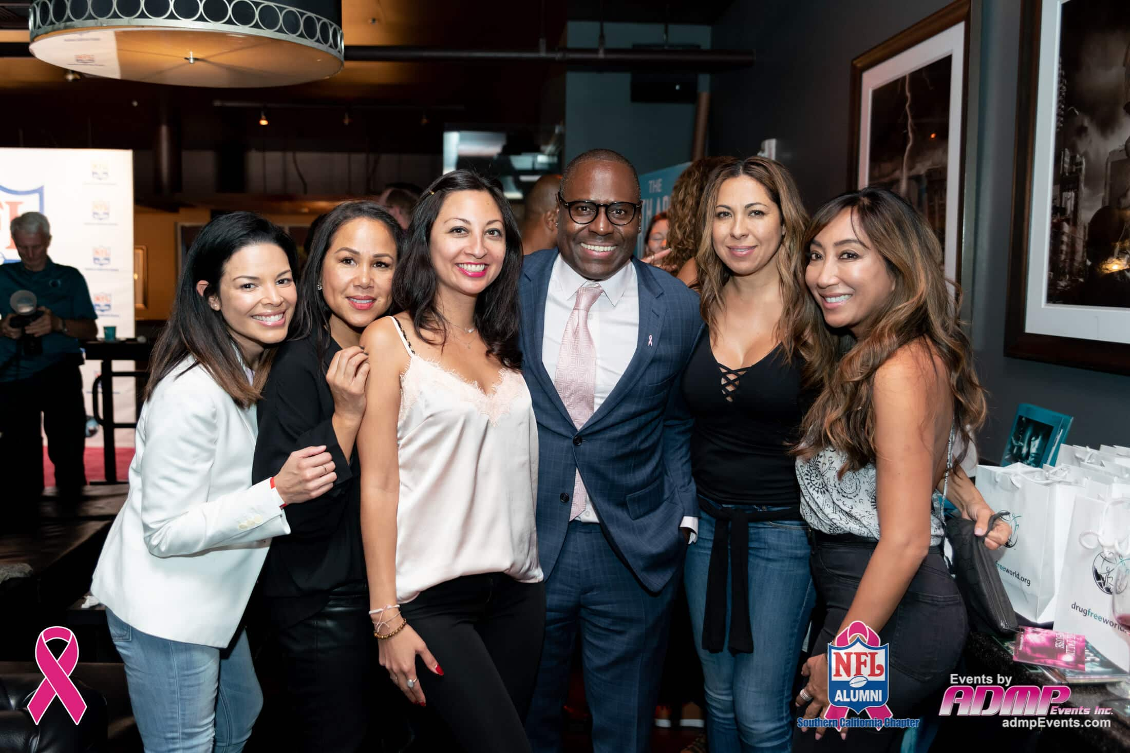 NFL Alumni SoCal Charity Event Series Breast Cancer Event 10-14-19-138