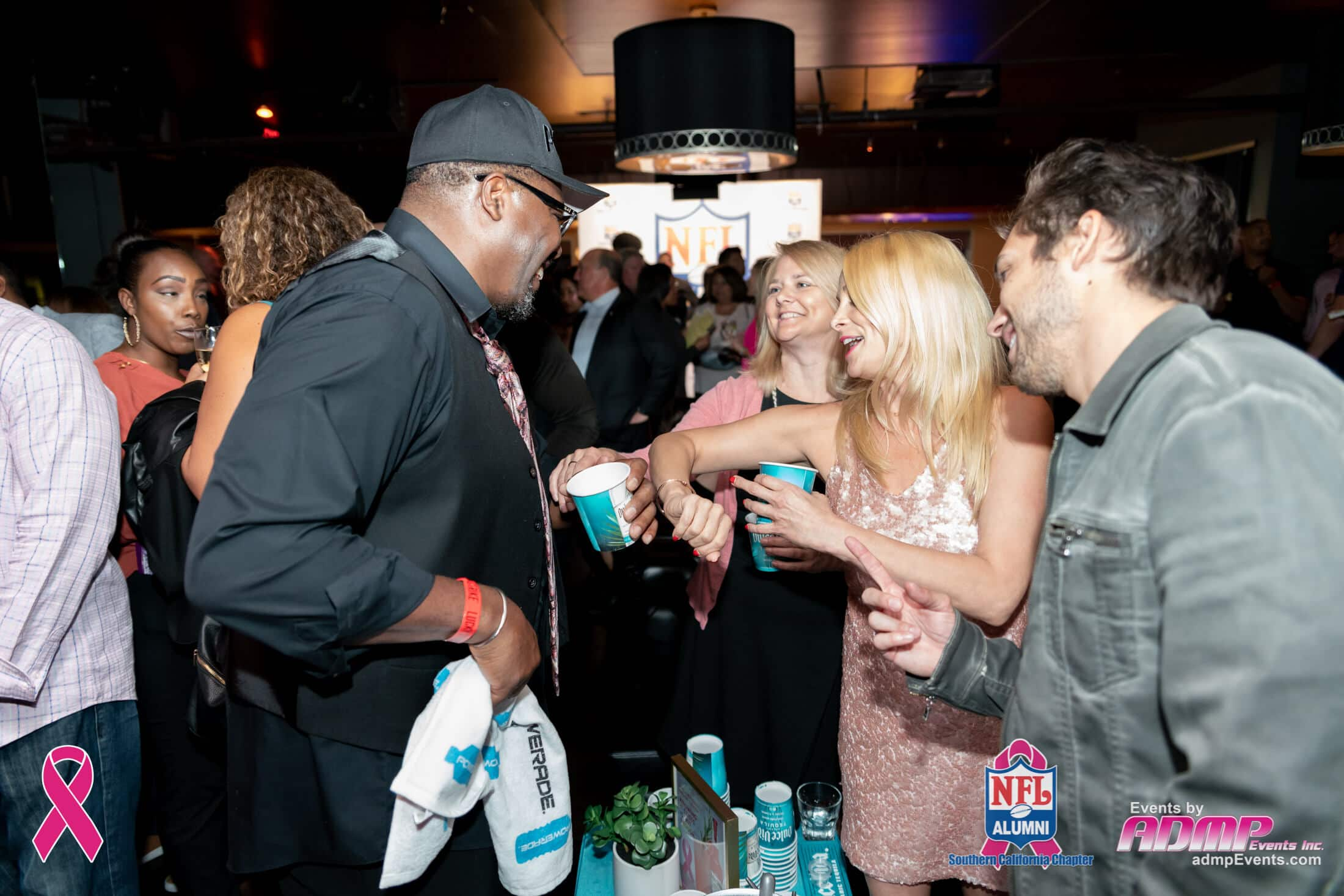 NFL Alumni SoCal Charity Event Series Breast Cancer Event 10-14-19-158
