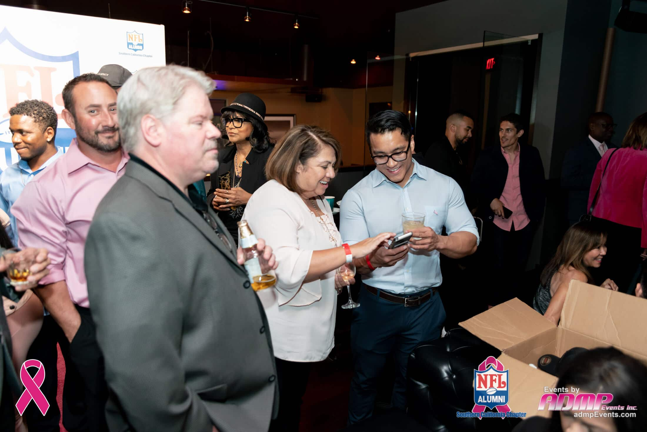 NFL Alumni SoCal Charity Event Series Breast Cancer Event 10-14-19-174