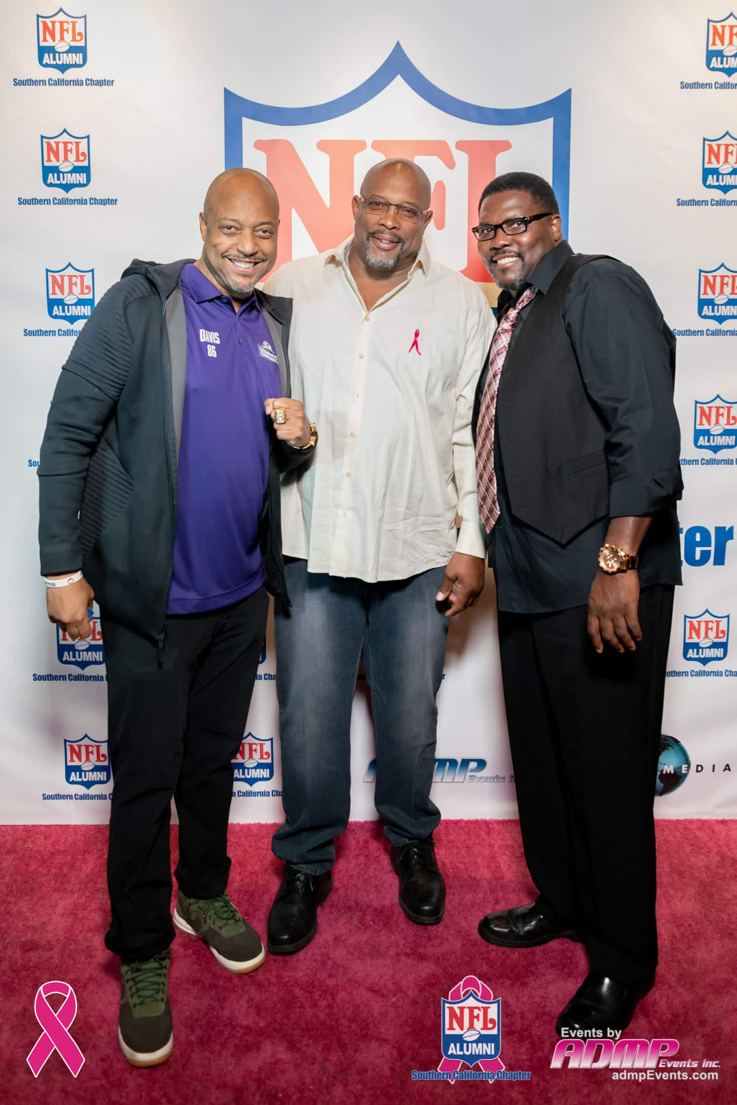 NFL Alumni SoCal Charity Event Series Breast Cancer Event 10-14-19-250