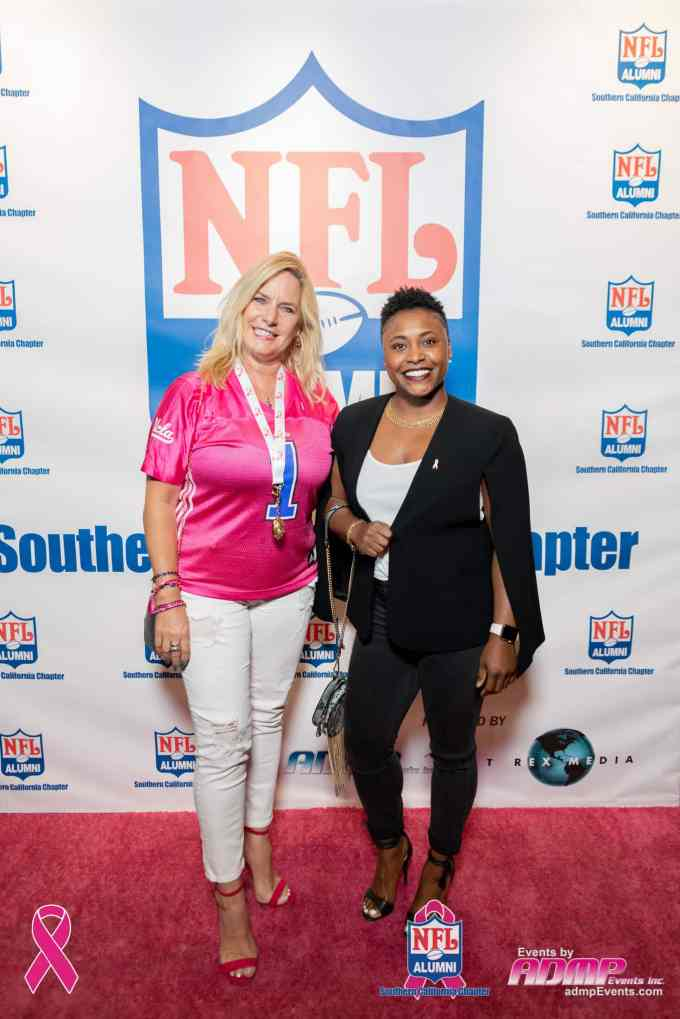 NFL Alumni SoCal Charity Event Series Breast Cancer Event 10-14-19-288
