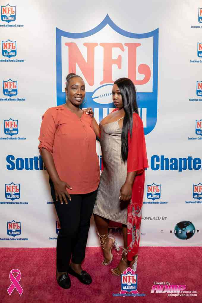 NFL Alumni SoCal Charity Event Series Breast Cancer Event 10-14-19-341