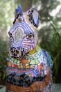 "Zebra ""Zibu"" front detail"