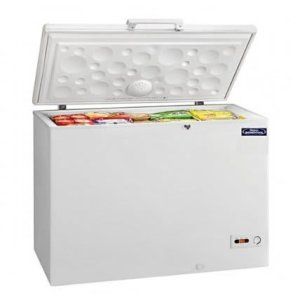 725 LChest Freezer  Double door R600 silver