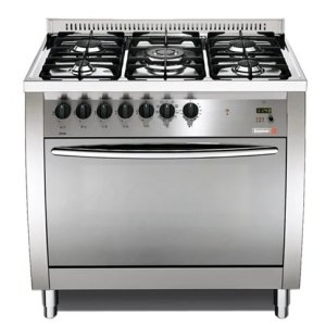 PNG96G2G – 90X60 CMS PEARL BLACK 5 BURNERS SEMI PROFESSIONAL COOKER