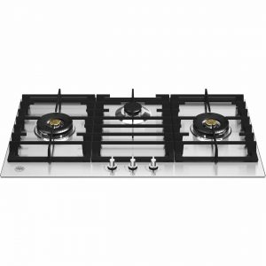 SFC640B  60cm Hob Inox Body Enamel Coated Grids Auto Ignition from Knobs