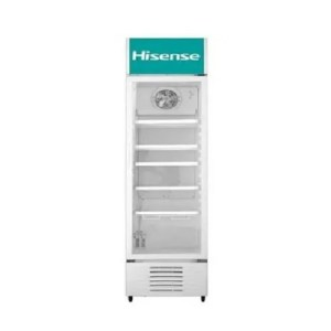 BEVERAGE COOLER 222 LITERS GAS R600 WHITE GLASS DOOR
