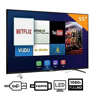55 4K UHD ULED TV4 HDMI 2 USB DIVX 1 AV Smart